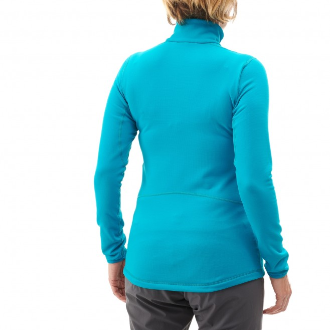 Micro polaire femme - ski - rose LD TECH STRETCH TOP Millet 2