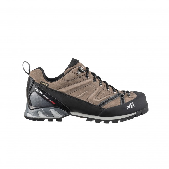 b874c96db69 ... Chaussures gore-tex - approche - beige TRIDENT GUIDE GTX Millet ...