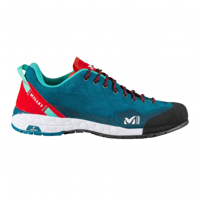 Chaussures - basses - Femme - Turquoise AMURI LEATHER W Millet