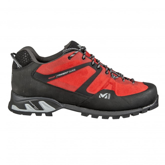 Chaussures basses - trekking - rouge TRIDENT GUIDE Millet