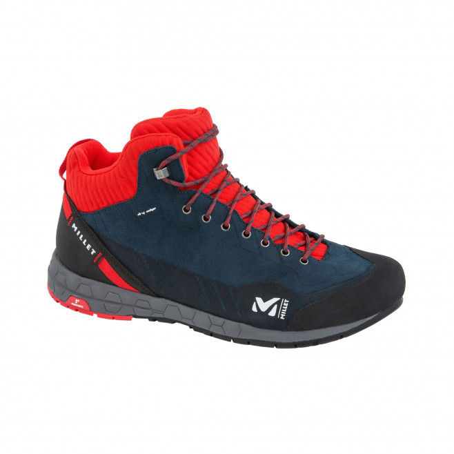 Chaussures hautes - homme - rouge AMURI LEATHER MID DRYEDGE M Millet 2