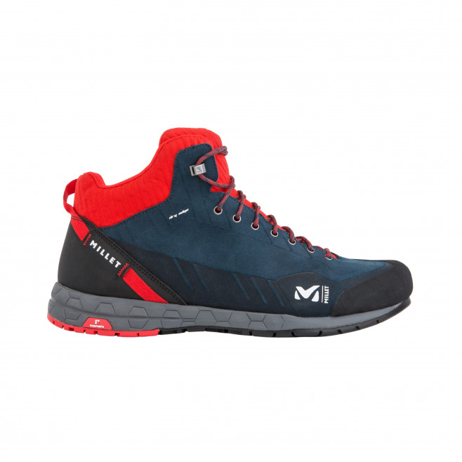 Chaussures hautes - homme - rouge AMURI LEATHER MID DRYEDGE M Millet