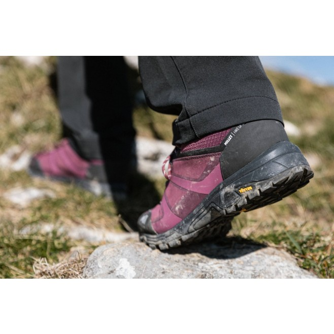Chaussures basses Gore-Tex - Femme - Violet HIKE UP LEATHER GTX W Millet 5
