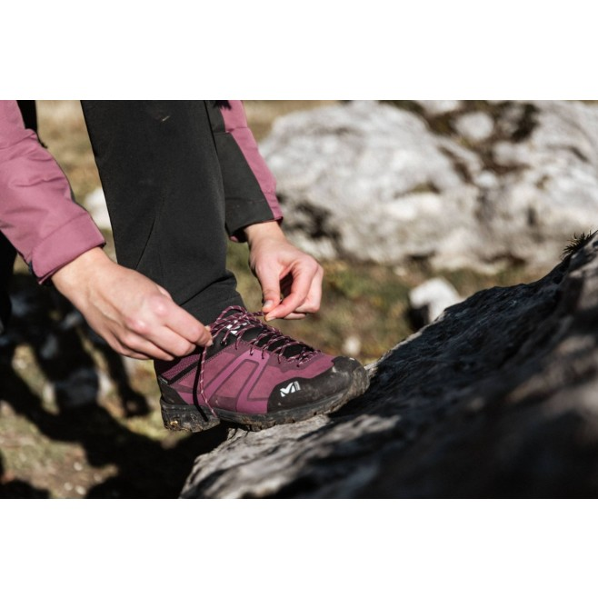 Chaussures basses Gore-Tex - Femme - Violet HIKE UP LEATHER GTX W Millet 6