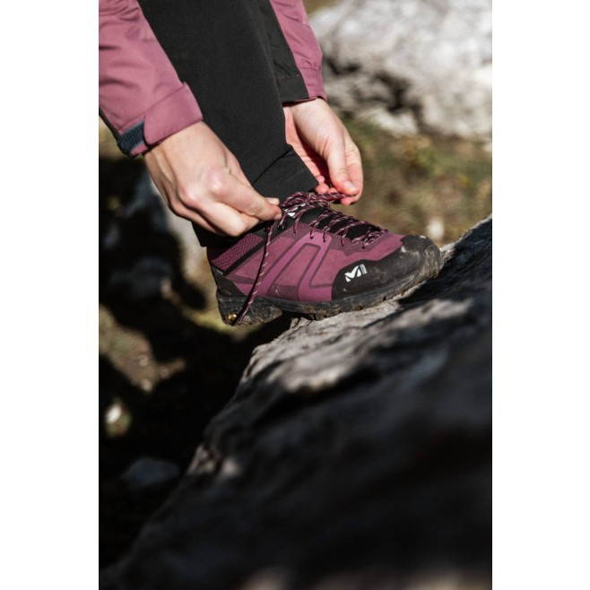 Chaussures basses Gore-Tex - Femme - Violet HIKE UP LEATHER GTX W Millet 7