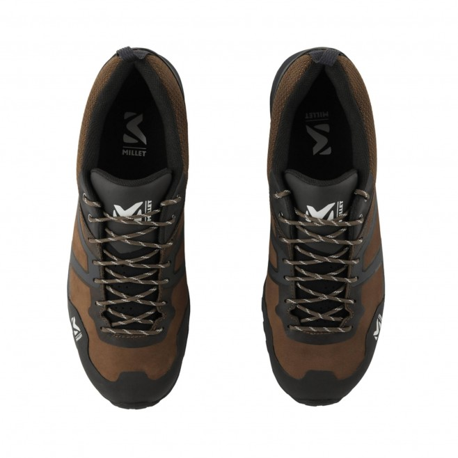 Chaussures basses Gore-Tex - Homme - Marron HIKE UP LEATHER GTX M Millet 4