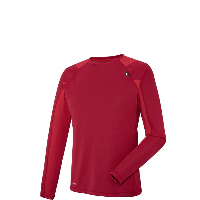 Alpinisme - Tee-Shirt pour homme - Rouge RED NEEDLES TS LS Millet
