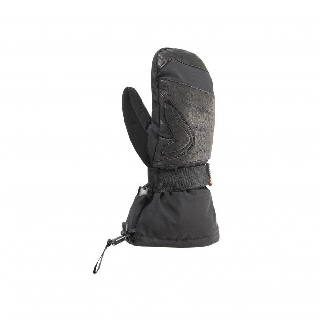 Gants d'alpinisme noirs LONG 3 IN 1 DRYEDGE MITTEN Millet