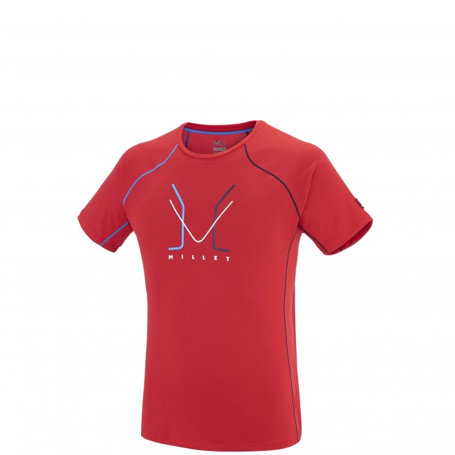 Alpinisme - Tee-shirt homme - Rouge TRILOGY DELTA LIMITED TS SS Millet