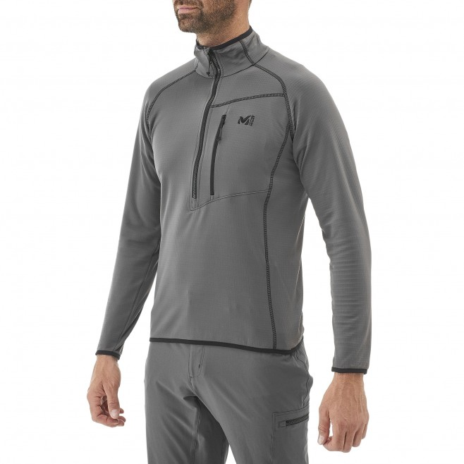 Trekking - Polaire homme - Gris BACALAR PO Millet 5