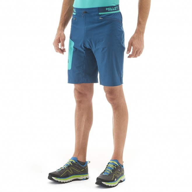 Bermuda homme - trail - orange LTK SPEED LONG SHORT Millet 2