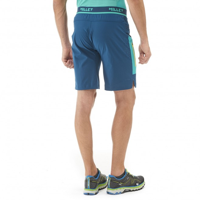 Bermuda homme - trail - orange LTK SPEED LONG SHORT Millet 3