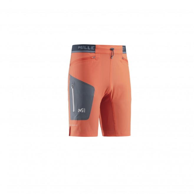 Bermuda homme - trail - orange LTK SPEED LONG SHORT Millet