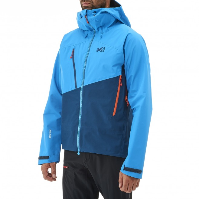 Veste gore-tex homme - alpinisme - orange ELEVATION GTX JKT Millet 3