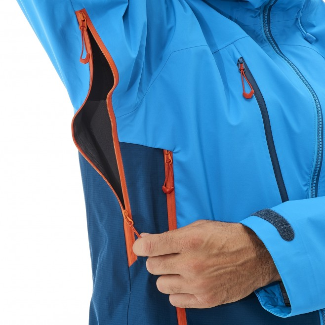 Veste gore-tex homme - alpinisme - orange ELEVATION GTX JKT Millet 10