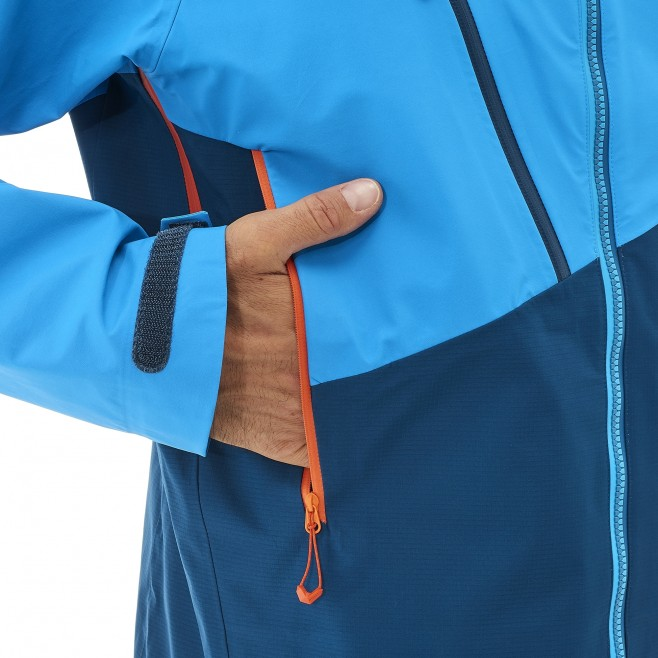 Veste gore-tex homme - alpinisme - orange ELEVATION GTX JKT Millet 12