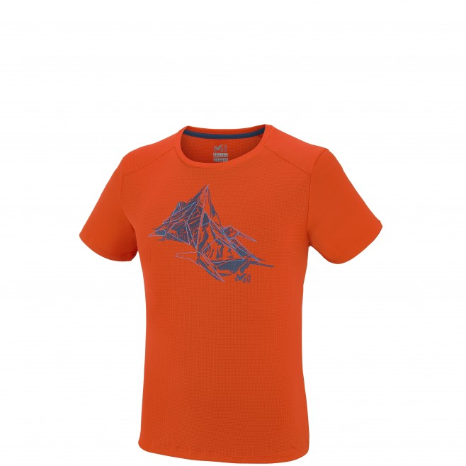 Alpinisme - Tee-shirt homme - Orange NEEDLES TS SS Millet