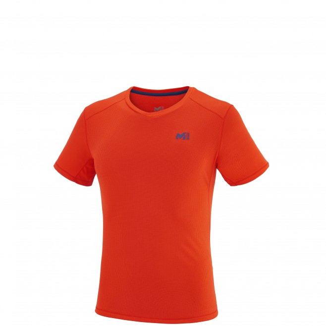 Alpinisme - Tee-shirt homme - Orange ROC BASE TS SS Millet
