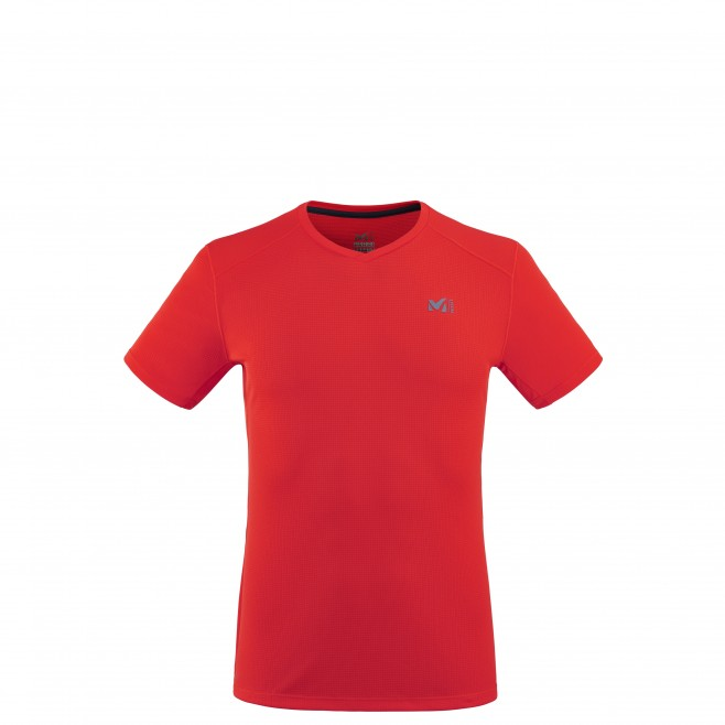 Tee-Shirt - Homme - rouge ROC BASE TS SS M Millet