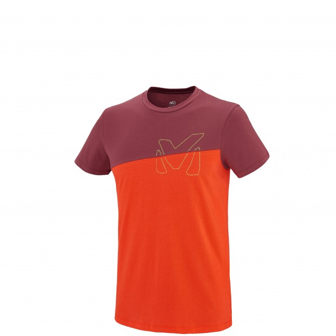 Escalade - Tee-shirt homme - Orange GOLDEN TS SS Millet