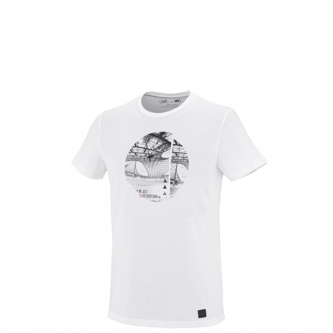 Escalade - Tee-shirt homme - Blanc LIMITED EDITION II TS SS Millet