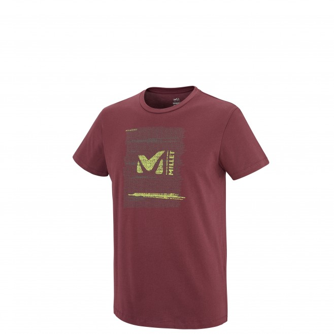 Escalade - Tee-shirt homme - Marron MILLET RISE UP TS SS Millet