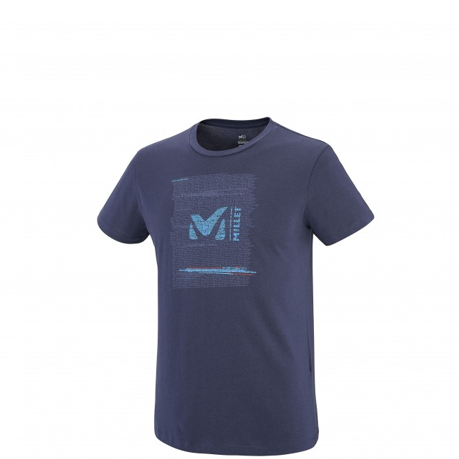Tee-Shirt manches courtes homme - escalade - marine MILLET RISE UP TS SS Millet