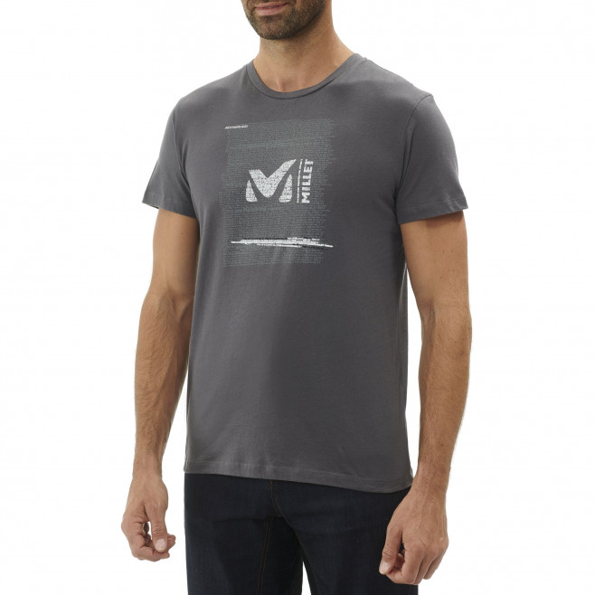 Tee-Shirt manches courtes homme - escalade - gris MILLET RISE UP TS SS Millet 2