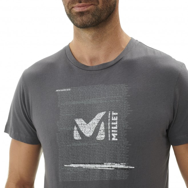 Tee-Shirt - Homme - gris MILLET RISE UP TS SS M Millet 4