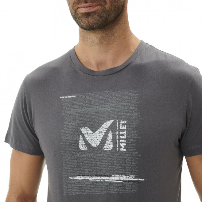 Tee-Shirt manches courtes homme - escalade - gris MILLET RISE UP TS SS Millet 4