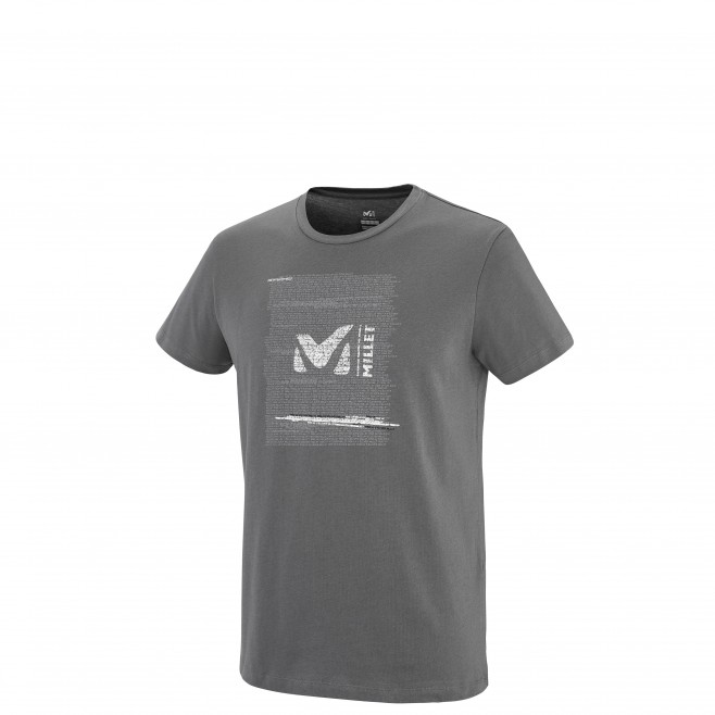 Tee-Shirt manches courtes homme - escalade - gris MILLET RISE UP TS SS Millet