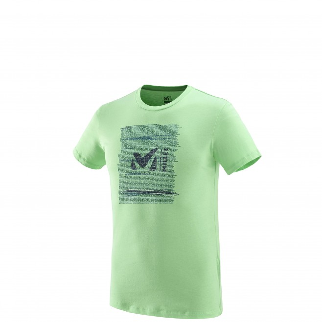Tee-Shirt manches courtes homme - escalade - vert MILLET RISE UP TS SS Millet