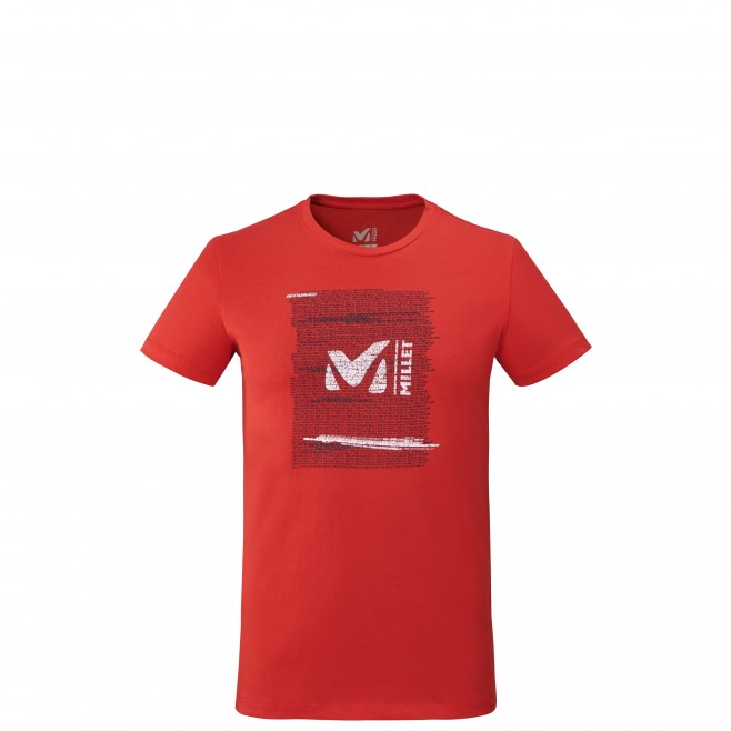 Tee-Shirt - Homme - rouge MILLET RISE UP TS SS M Millet
