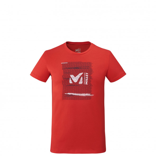 Tee-shirt manches courtes - homme - rouge MILLET RISE UP TS SS M Millet