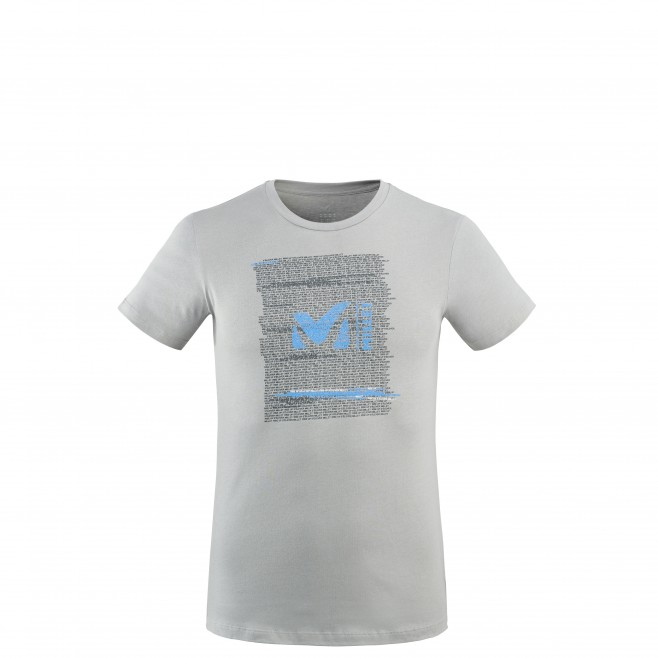 Tee-Shirt - Homme - gris MILLET RISE UP TS SS M Millet