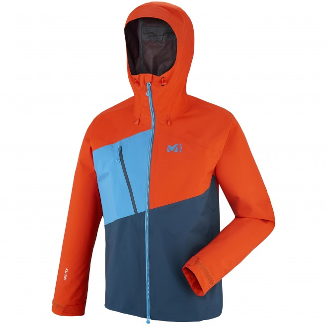 Veste gore-tex homme - alpinisme - orange ELEVATION ONE GTX JKT Millet