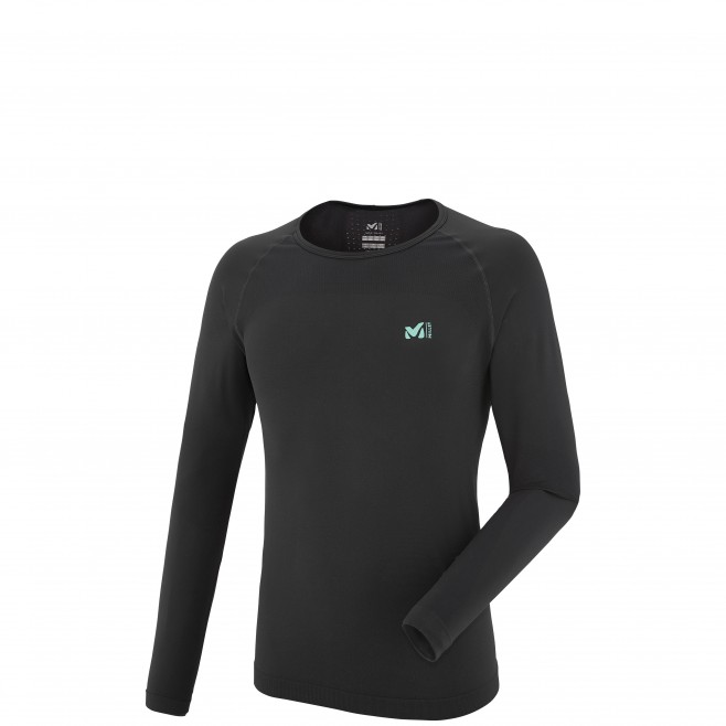 Tee-shirt manches longues homme - trail - noir LTK SEAMLESS TS LS Millet