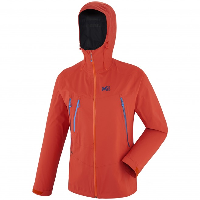Alpinisme - Veste homme - Orange TRIDENT 2,5L STRETCH JKT Millet