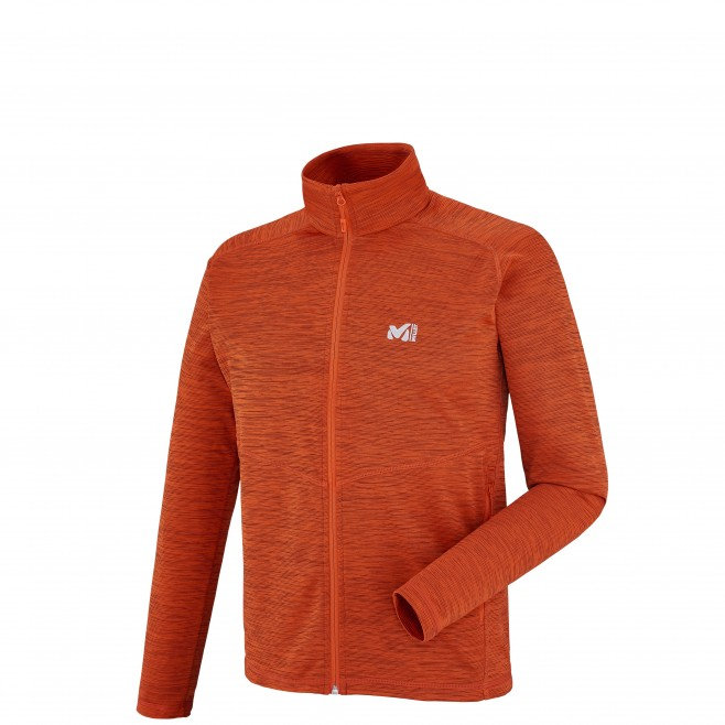 Trekking - Polaire homme - Orange TWEEDY MOUNTAIN JKT Millet