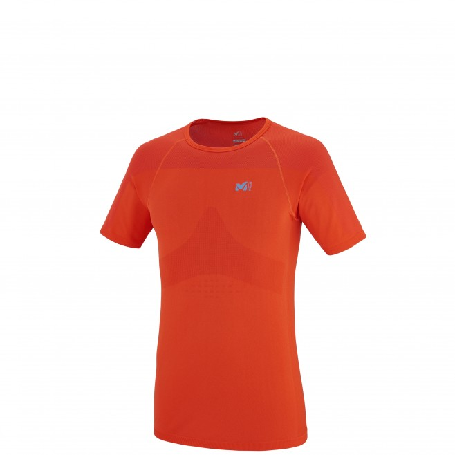 Trail - Tee-shirt homme - Orange LTK SEAMLESS TS SS Millet
