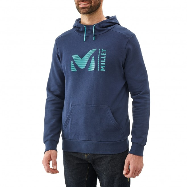 Sweat homme - escalade - bleu marine MILLET SWEAT HOODIE Millet 5