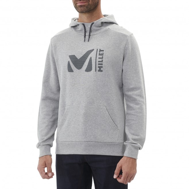 Sweat   - Homme - gris MILLET SWEAT HOODIE M Millet 2