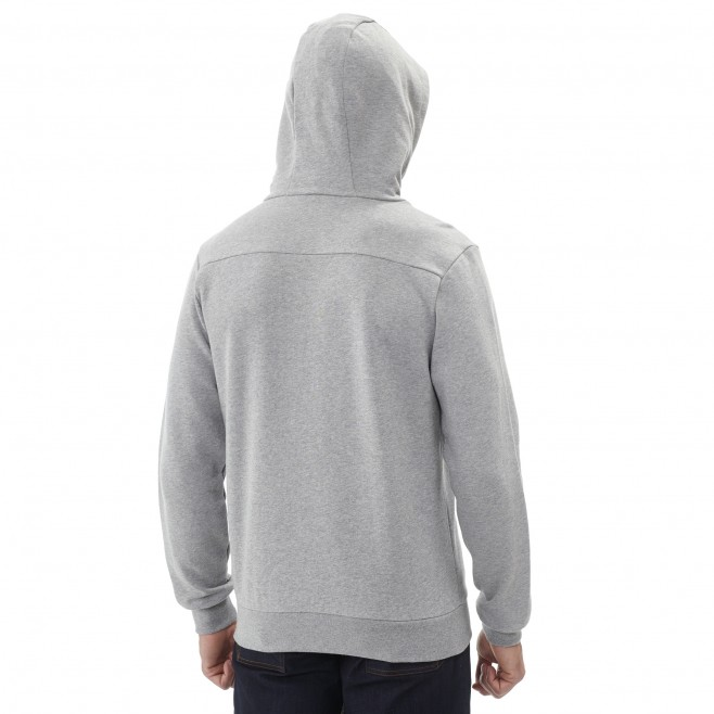 Sweat   - Homme - gris MILLET SWEAT HOODIE M Millet 3