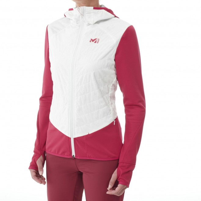 Polaire  - Femme - blanc EXTREME RUTOR ALPHA COMPO HOODIE W Millet 2