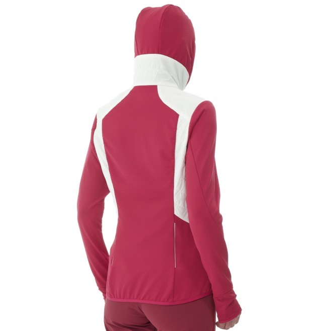 Polaire  - Femme - blanc EXTREME RUTOR ALPHA COMPO HOODIE W Millet 5
