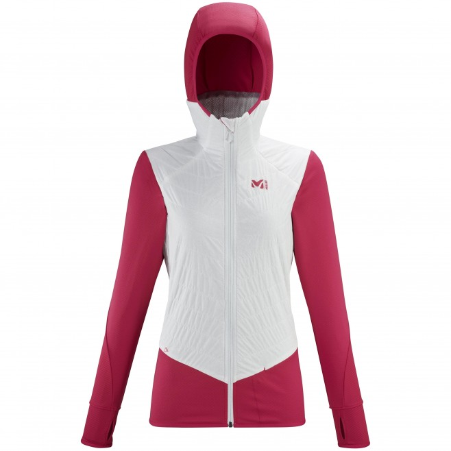 Polaire  - Femme - blanc EXTREME RUTOR ALPHA COMPO HOODIE W Millet