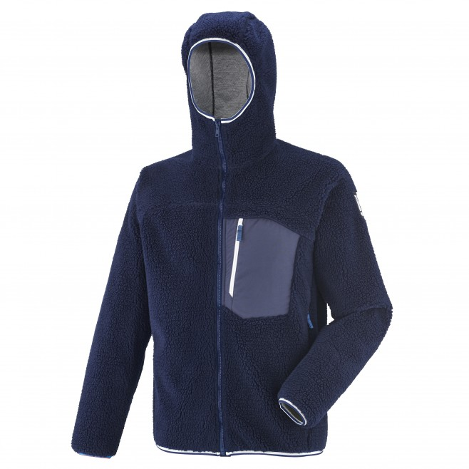 Veste polaire homme - approche - bleu marine  8 SEVEN WINDSHEEP HOODIE Millet