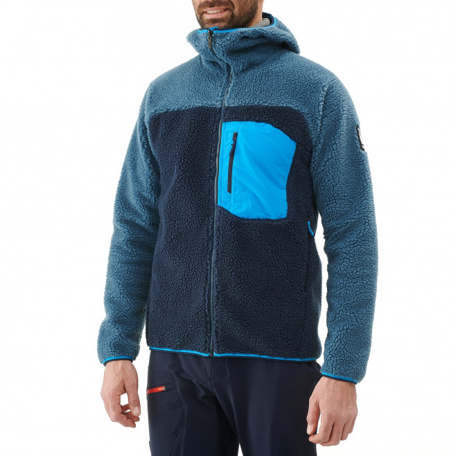 Veste polaire homme - approche - bleu marine  8 SEVEN WINDSHEEP HOODIE Millet 2