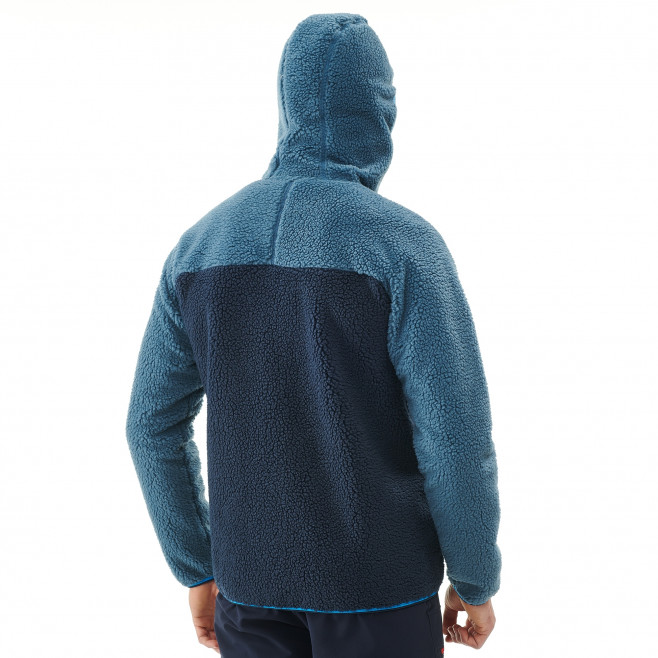 Veste polaire homme - approche - bleu marine  8 SEVEN WINDSHEEP HOODIE Millet 3