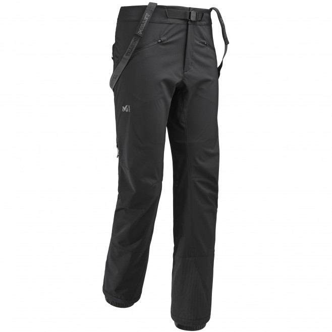 Pantalon softshell homme - approche - noir NEEDLES SHIELD PANT Millet